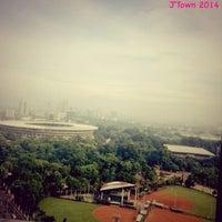 Photo taken at Menara Sudirman by Ayu Anggi W. on 1/3/2014