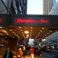 Photo taken at Hampton Inn Manhattan Times Square North by Jose M. on 2/14/2013