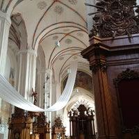 Photo taken at Šv. Onos Bažnyčia | St Anne's Church by Fevzi T. on 4/3/2013