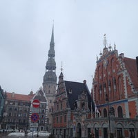 Photo taken at The Town Hall Square by Fevzi T. on 4/4/2013