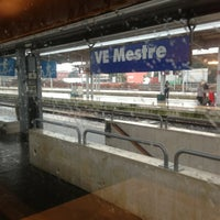 Photo taken at Venezia Mestre Railway Station (XVY) by Davide Ceriani on 1/16/2013