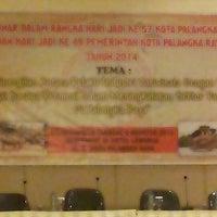Photo taken at Luwansa Hotel Palangkaraya by Rins A. on 8/9/2014