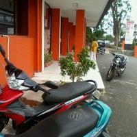 Photo taken at Pos Indonesia by Wita K. on 1/15/2013