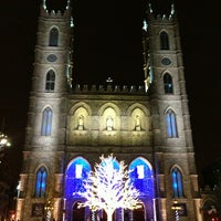 Photo taken at Notre-Dame Basilica of Montréal by Elliott on 1/2/2013