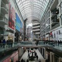 Photo taken at CF Toronto Eaton Centre by Jasper I. on 2/24/2013