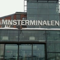 Photo taken at Frihamnsterminalen   Tallink - S:t Peter Line by Raitis F. on 2/14/2013