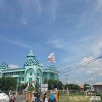 Photo taken at Masjid Agung Al-Hijrah by Risang P. on 6/29/2013