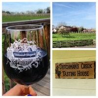 Photo taken at Hiddencroft Vineyards by megan d. on 4/21/2013