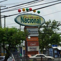 Photo taken at Supermercados Nacional by Dra Joha J. on 6/4/2012