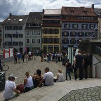 Photo taken at Augustinerplatz by Muhannad on 5/28/2016