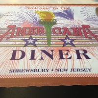 Photo taken at The Americana Diner by Carrie H. on 4/23/2013