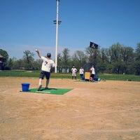 Photo taken at Belle Isle Athletic Field by Daniel E. on 5/10/2014