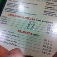 Photo taken at Pizzaria Guarani by Brenda B. on 9/23/2012