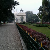 Photo taken at Victoria Memorial by Ananya R. on 1/5/2013