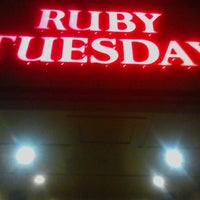 Photo taken at Ruby Tuesday by Prince G. on 9/16/2012
