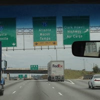 Photo taken at Interstate 75 by Chelsie S. on 10/10/2012