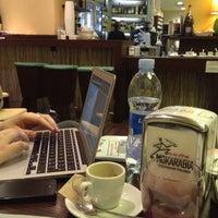Photo taken at Caffè Laganà by Erik B. on 1/23/2013
