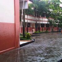 Photo taken at SMP Negeri 1 Bandung by Fasya T. on 3/27/2013