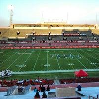 Photo taken at Corbin J. Robertson Stadium by Teddy H. on 3/8/2013