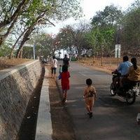 Photo taken at Goa Selomangleng by Anton S. on 11/4/2012