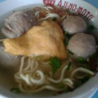 Photo taken at Bakso Green Garden by Surya S. on 7/11/2013