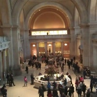 Photo taken at The Great Hall at The Metropolitan Museum of Art by kos42 on 11/29/2012