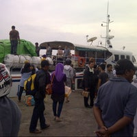 Photo taken at Pelabuhan Senghie by Fadil P. on 10/28/2012