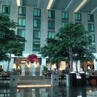 Photo taken at Novotel Suvarnabhumi Airport Hotel by Jeab K. on 12/11/2012