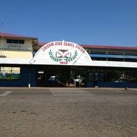 Photo taken at Colegio José Daniel Crespo by Enrique S. on 1/7/2013