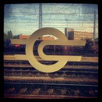 Photo taken at Ferencváros vasútállomás by Márton R. on 10/5/2012