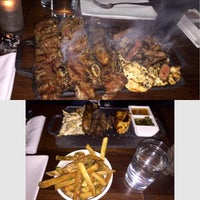 Photo taken at Libertador Parrilla Argentina by Danny R. on 5/4/2015