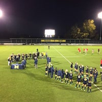 Photo taken at U-M Soccer Complex by Brian B. on 10/22/2016