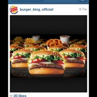 Photo taken at Burger King by WelcomeBreak on 4/22/2013
