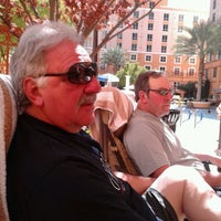 Photo taken at Wyndham Grand Desert Hot Tub by Marge G. on 3/11/2013