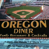 Photo taken at Oregon Diner by Shawn on 11/5/2012