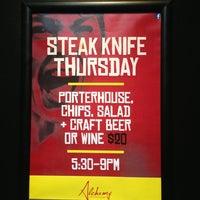 Photo taken at Alchemy Bar & Restaurant by Yvonne T. on 6/26/2013