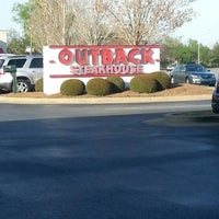 Photo taken at Outback Steakhouse by Marie M. on 4/6/2013