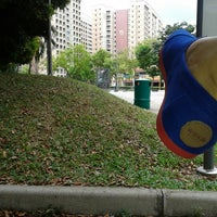 Photo taken at Bus Stop 66529 (Blk 538) by Raquel D. on 7/11/2013