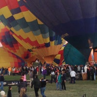 Photo taken at The Stage @ Balloon Fiesta Park by Marlon L. on 10/10/2014