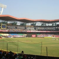 Photo taken at Jawaharlal Nehru Stadium by Tony C. on 1/15/2013