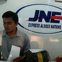 Photo taken at JNE by Tia Aya L. on 9/19/2012