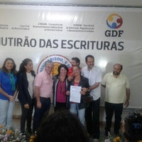Photo taken at Administração Regional de Ceilândia by GDF on 6/14/2014