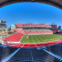 Photo taken at Raymond James Stadium by Raymond James Stadium on 8/27/2014