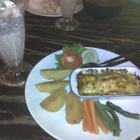 Photo taken at Resep Moyang Cafe & Resto by Andreas D. on 2/1/2014