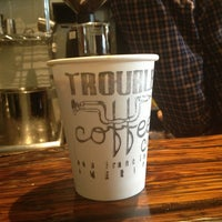 Photo taken at Trouble Coffee by Lisbeth O. on 4/6/2013