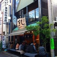 Photo taken at Umegaoka Sushi no Midori by Yuri I. on 11/4/2012