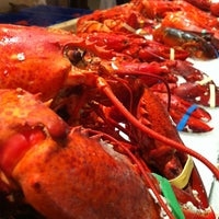 Photo taken at Lobster Place by Maths M. on 12/31/2012