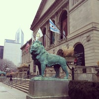 Photo taken at The Art Institute of Chicago by Ryan K. on 2/21/2013