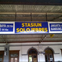 Photo taken at Stasiun Solo Jebres by Agus A. on 7/26/2013