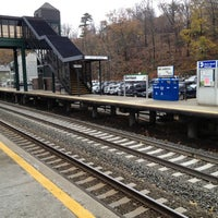 Photo taken at Metro North - Garrison Train Station by Reggie A. Gamble on 11/13/2012